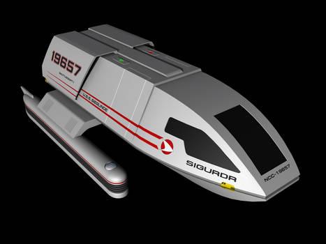 Excelsior era shuttle