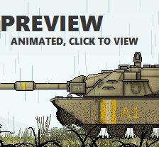 Prototype Tank (Animated)
