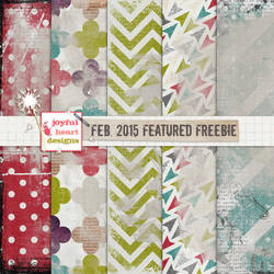 Featured Freebie from Feb. 2015 - ONE :)