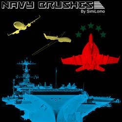 Navy Brushes by SimiLomo