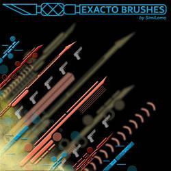 Exacto Brushes by SimiLomo