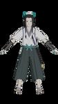 Haku Ronin Outfit by HydraBladeZ