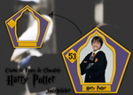 Cromo de Ranas de Chocolate de Harry Potter psd.