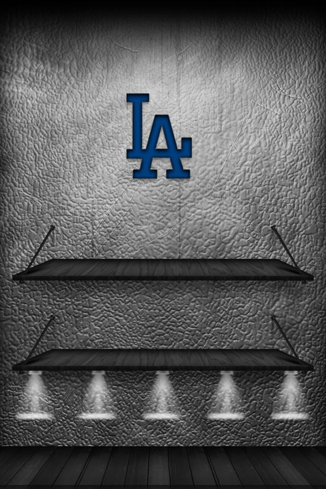 LA Dodgers Iphone Wallpaper And Lock Screen By GoDodgerz