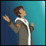 Lance in the Rain by Jenni41