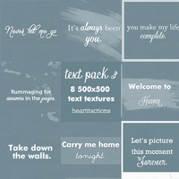 Text pack 3 by asweetnightmare