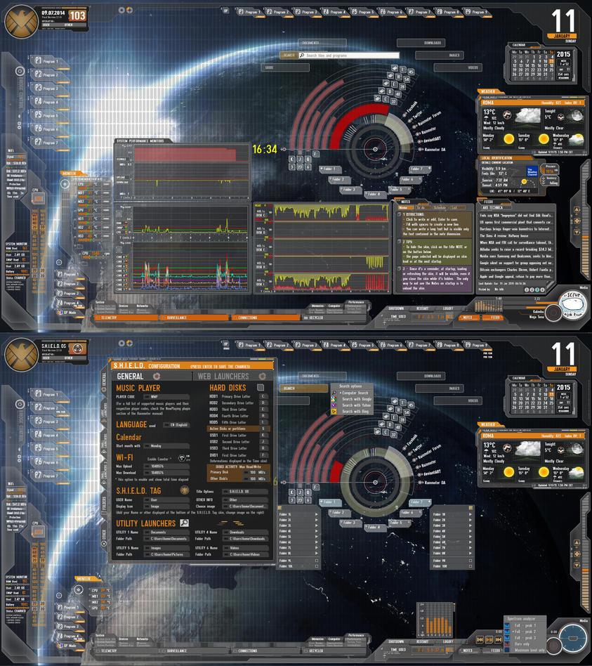 AVENGERS S.H.I.E.L.D. 2.1 by Fonpaolo