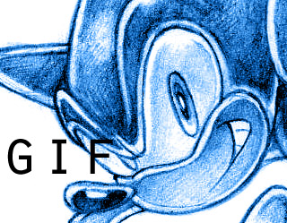 SONIC THE HEDGEHOG - penciling step-by-step by ihearrrtme