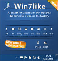 Win7like for Miranda IM by wallla
