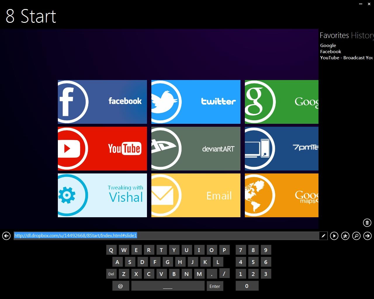 Metro Browser 1.1