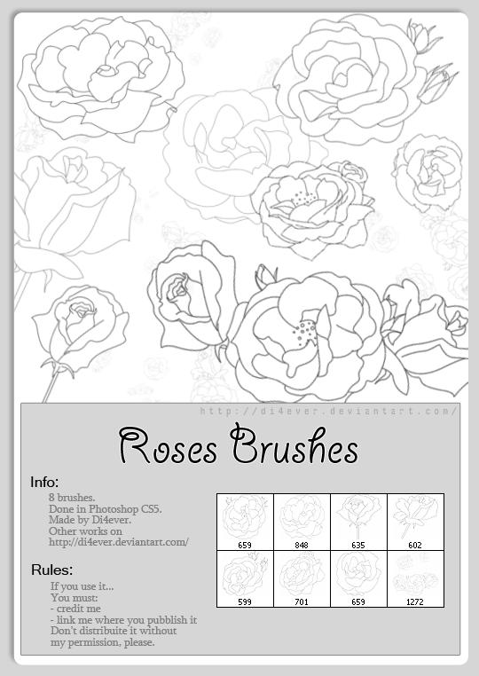 FREE - Roses Brush