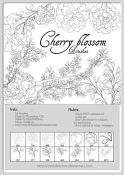 FREE - Cherry Blossom brushes