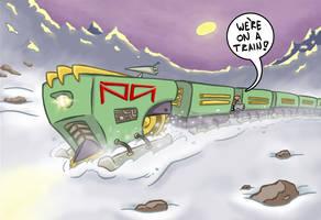 Tundra Tram progress animation by MatWashburn