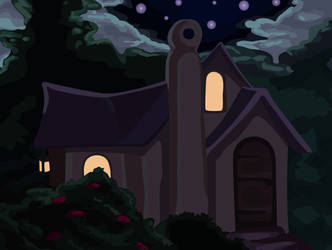 Fairy Cottage Animation by Vesperius