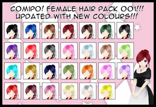 Female Hair Pack - 001