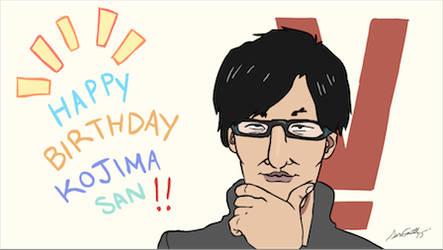 Happy Birthday Hideo Kojima! Animated by Kenyu05KR