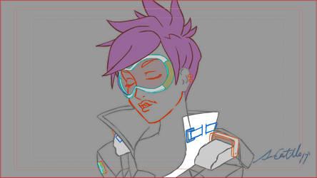 Tracer Lipsynch CheersLove Rough Animation by Kenyu05KR