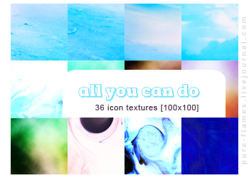 Icon Textures - Set 004 - All you can do by justalittlefaith