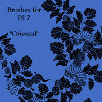 Oriental Brushes PS 7 by Songficcer
