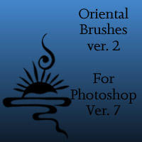 Oriental Brushes 2 by Songficcer