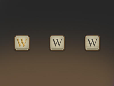 Wikipedia Icons by FBED