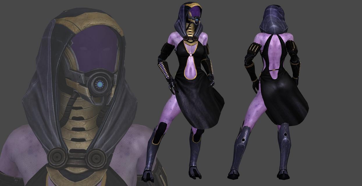 Mass Effect - Tali Dress DL by TheRaiderInside