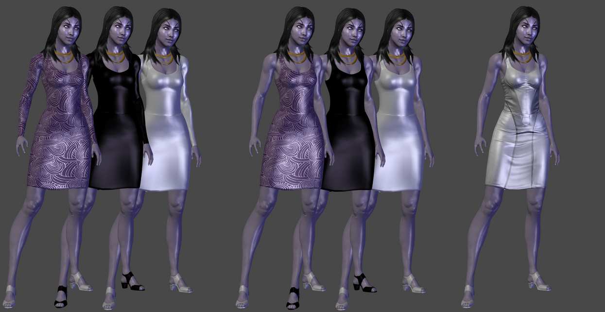 Tali Basic Dress by TheRaiderInside