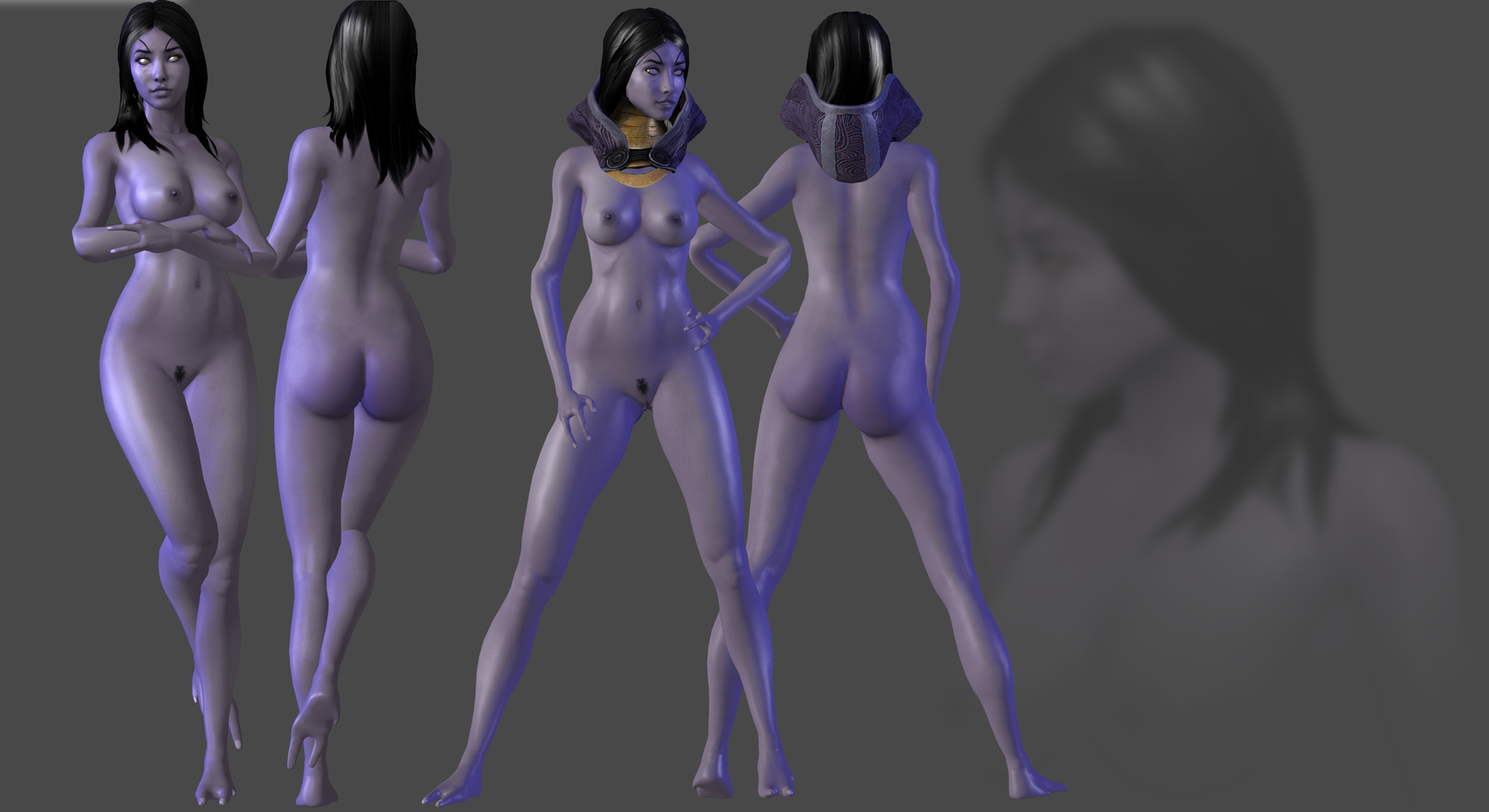 Mass effect tali nude