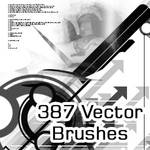 387 Abstract Vector Brushes