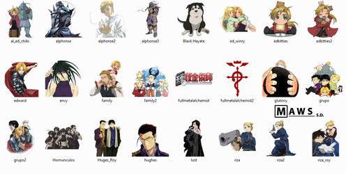 FMA Icons Pack