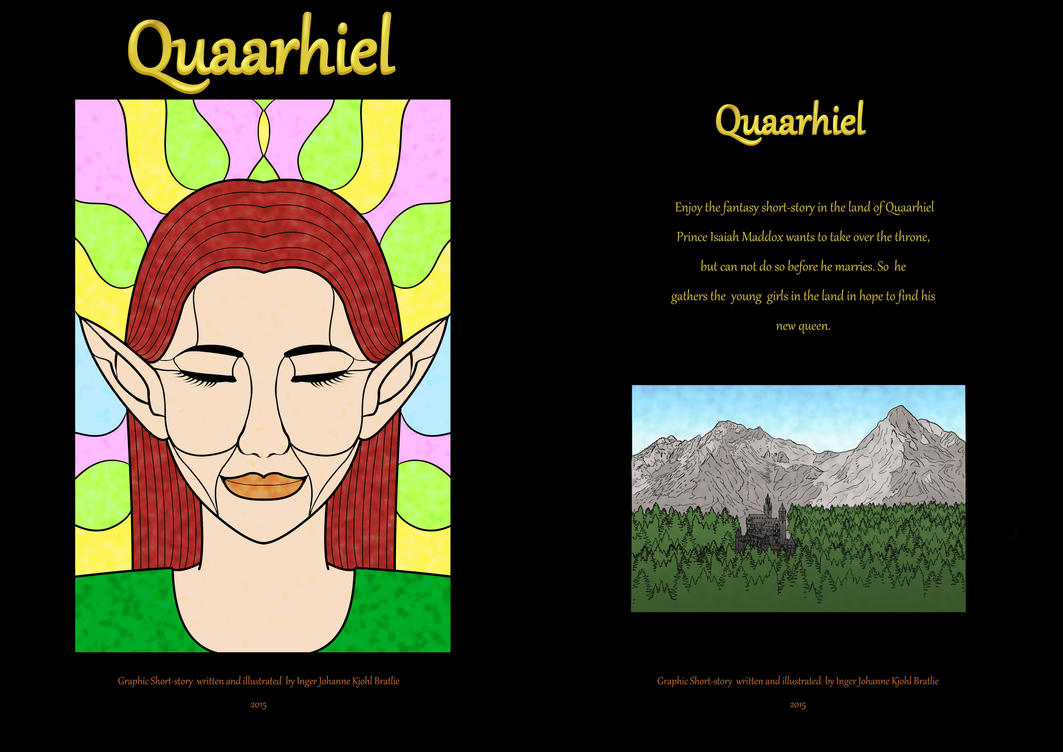 Quuarhiel Comic Avaible on ComiXology by Ingerawsome
