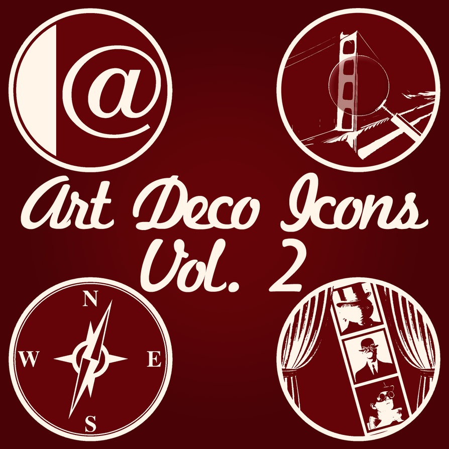 Art deco icons volume 2 by stcroiss on deviantart - Deco vol ...