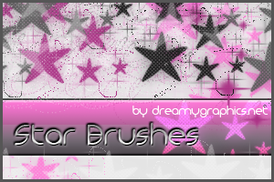 Star Brushes For Gimp by inge123