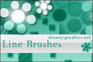 Line Brushes For Gimp by inge123