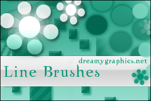 Line Brushes For Photoshop by inge123