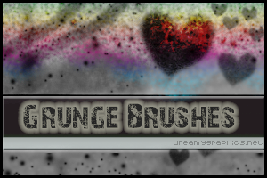Grungebrushes For Photoshop by inge123