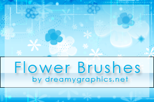 Flowerbrushes For Photoshop by inge123