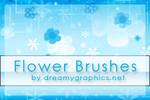 Flowerbrushes For Gimp