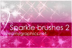 Sparklebrushes For Photoshop 2 by inge123