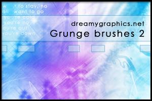 Grungebrushes For Gimp 2 by inge123