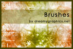 Gimp brushes by dreamygraphics