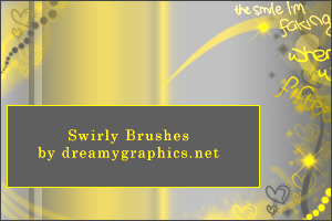 Swirly Brushes by DG for Gimp by inge123