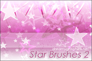 Star Brushes 2 For Gimp by inge123