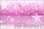 Star Brushes 2 For Gimp