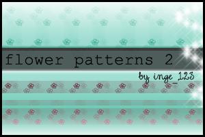 Flowerpatterns 2 by inge123