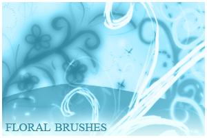 Floral Brushes For Gimp by inge123