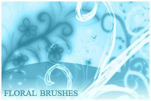 Floral Brushes For Gimp