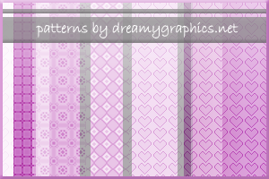Patterns By Dreamygraphics.net by inge123