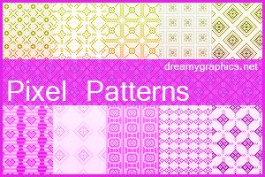 Pixel Patterns by inge123