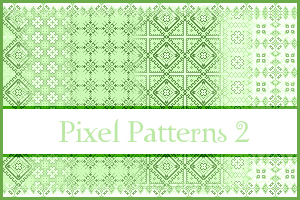 Pixel Patterns 2 by inge123